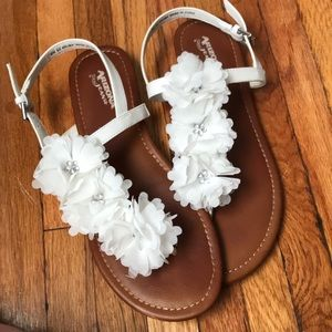 Arizona Jean Company Shoes - Flowery Sandals!